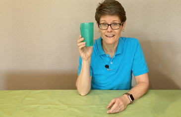 Drinking Cup for People with Difficulty Swallowing