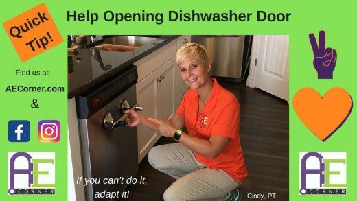 Help Opening a Dishwasher Door