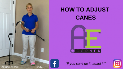 How to Adjust Canes