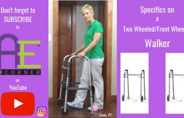 Specifics on 2 Wheel Walker