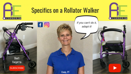 Specifics of a Rollator