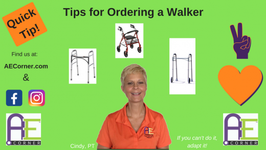 Tips for Ordering a Walker