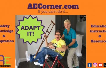 What does Adaptive Equipment Corner Do