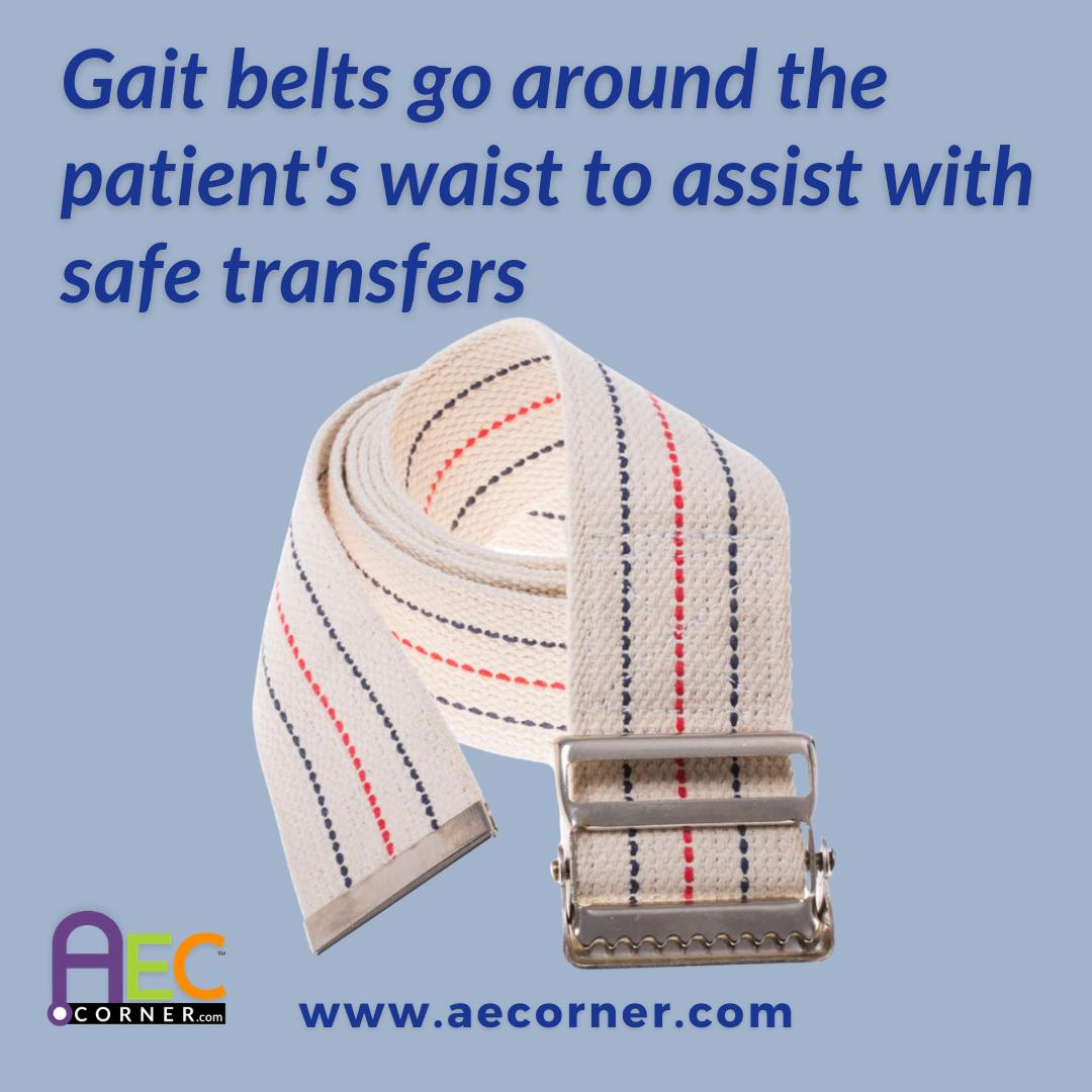 Gait Belts for Safe Transfers