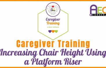 raising chair height using a pla