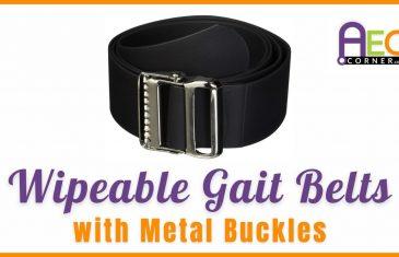 wipeable gait belts